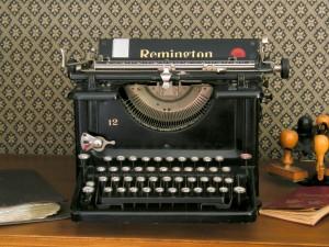 Postal: Máquina de escribir Remington