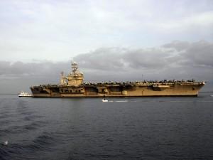 El superportaaviones USS Theodore Roosevelt (CVN-71)