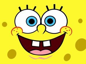 La sonrisa de Bob Esponja