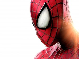 """La cara del hombre araña en """"Spider-Man 2"""""""
