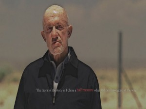 Postal: Mike, personaje de Breaking Bad