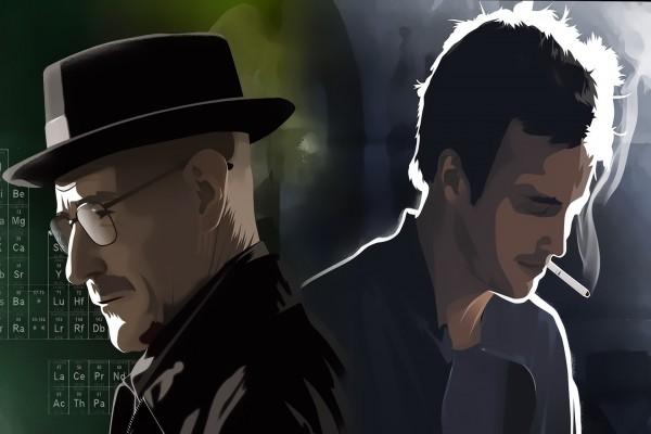 Personajes de la serie Breaking Bad: Walter White y Jesse Pinkman