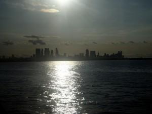 Postal: Buenos Aires vista desde el Río de la Plata