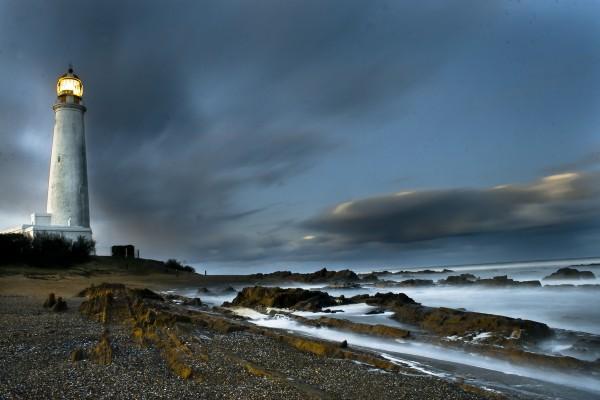 Faro en Cabo de Santa María (Uruguay)
