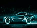 Auto deportivo digital