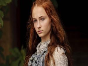 "Postal: Sansa Stark, personaje en ""Juego de Tronos"""