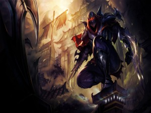 "Zed ""League of Legends"""