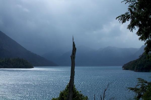 Vista del Lago Nahuel Huapi (Bariloche, Argentina)