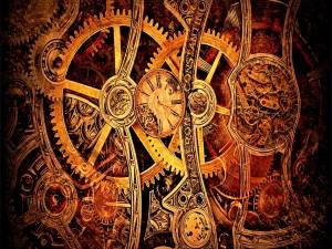 Postal: Engranajes de reloj