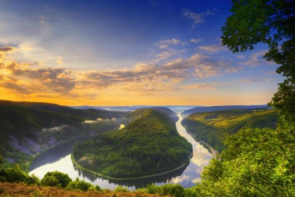 Meandro del Sarre (Alemania)