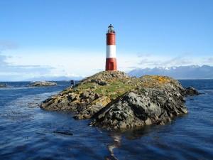 Faro Les Éclaireurs en Tierra del Fuego, Argentina