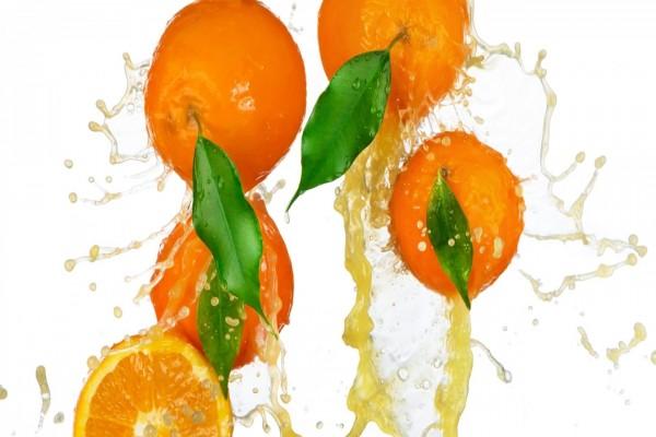 Jugo de naranjas frescas