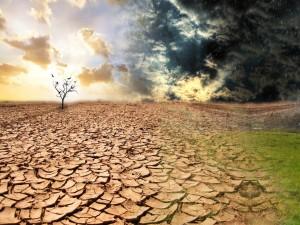 Sequía y lluvia