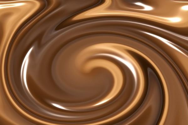 Ondas de color marrón