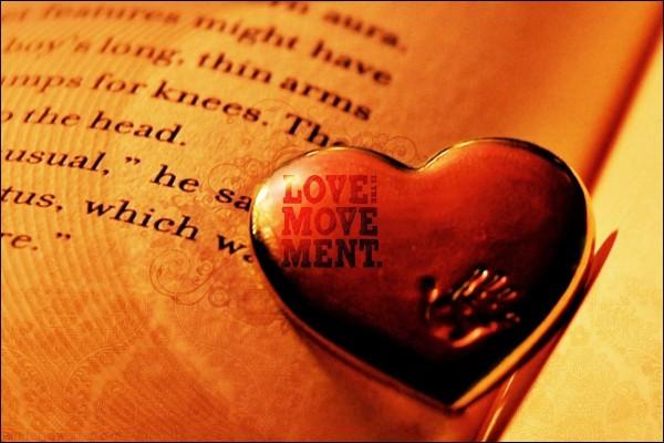 Amor es el movimiento