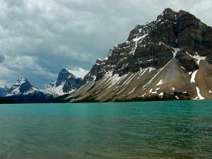 Lago Bow, en la provincia canadiense de Alberta
