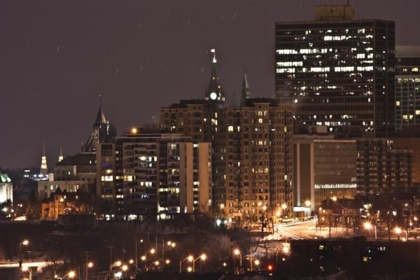 Noche en Ottawa