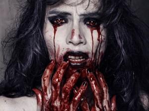 Postal: Llorando sangre