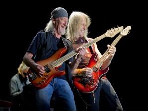 Deep Purple actuando en Gredos (España)