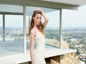 La actriz estadounidense Amber Heard