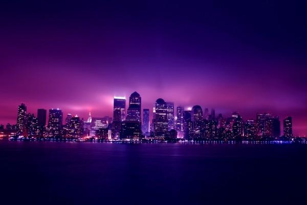 Ciudad de color púrpura