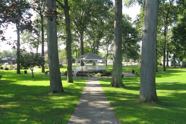 Parque en Ludlow (Massachusetts)