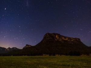 Noche estrellada en Australia