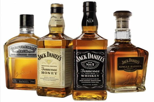 Botellas de Whiskey Jack Daniel's