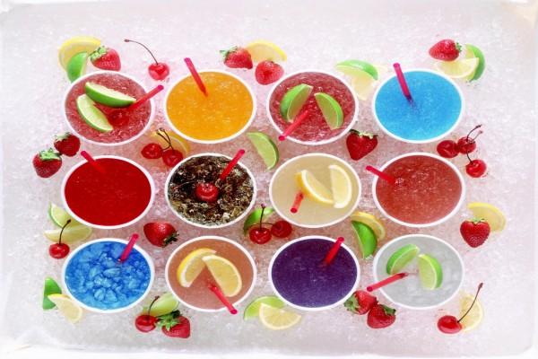 Granizados de frutas