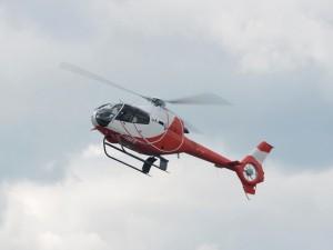 Postal: Eurocopter EC120 Colibrí en el aire