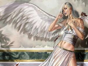 Una mujer ángel rebelde