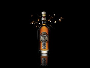 Botella de whisky Chivas Regal