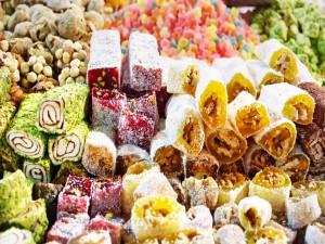 Dulces y caramelos variados