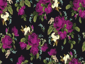 Diseño floral de varios colores