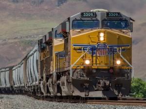 Postal: Tren de Union Pacific
