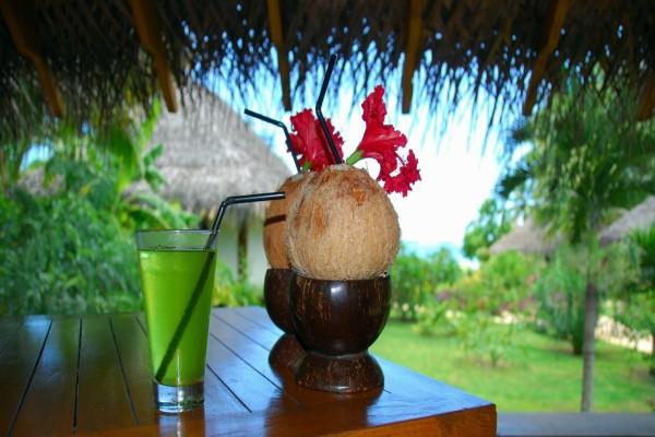 Cocos listos para beber