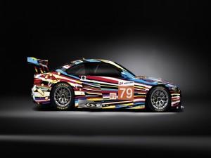Postal: BMW M3 de colores