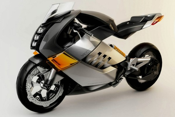 "Moto eléctrica ""Vectrix Superbike"""