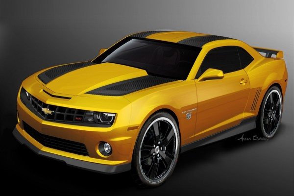 Camaro SS amarillo