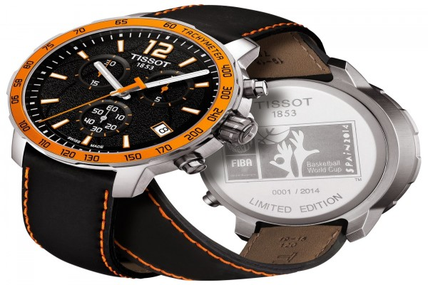 "Reloj Tissot edición limitada ""Basketball World Cup Spain 2014"""