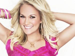 La actriz y cantante Carrie Underwood
