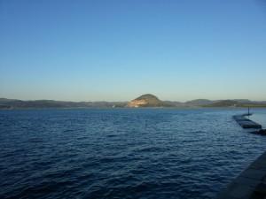 Mar y cielo en la costa cantábrica
