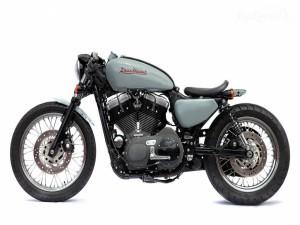 Postal: Moto clásica Honda Deus Special
