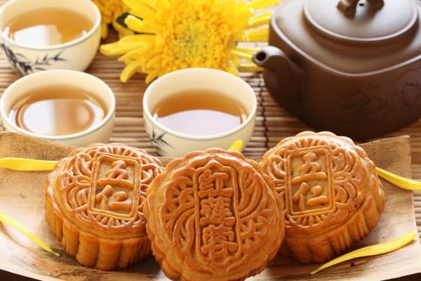 Té y bollos chinos