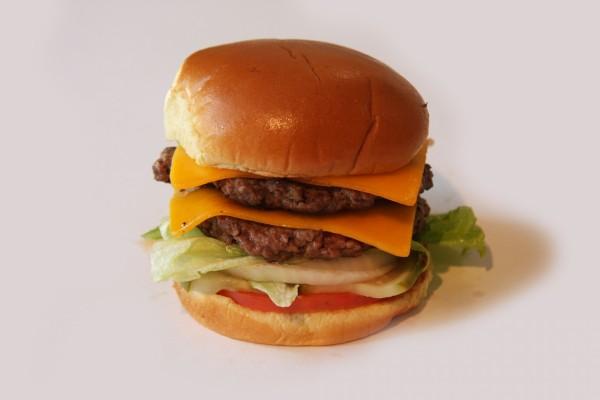 Hamburguesa con doble de carne y de queso