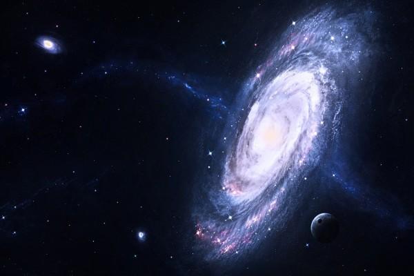 Dos galaxias lejanas