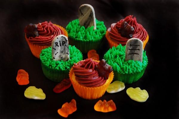 Cupcakes para comer en Halloween