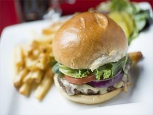 Pan redondo para una hamburguesa