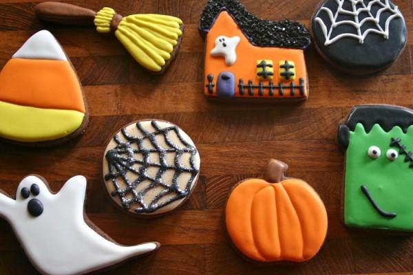 Originales galletas para regalar en Halloween
