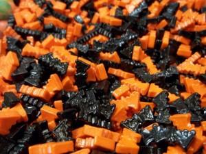 Caramelos de murciélagos para Halloween